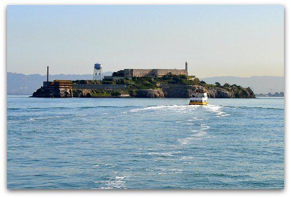 Ferry Near Alcatraz