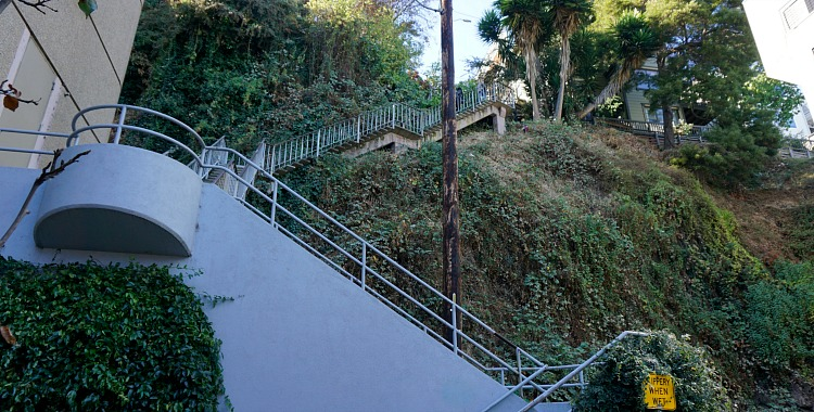 Fillbert Street Steps near Sansome