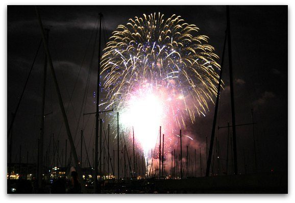 Fireworks in SF
