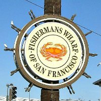 Fishermans Wharf Sign