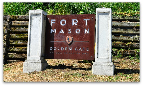 Fort Mason Sign in SF