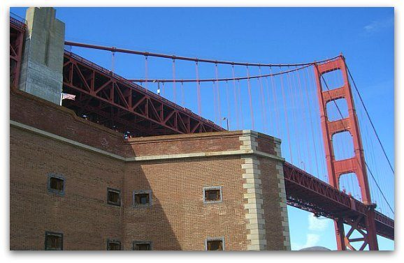 fort point golden gate bridge