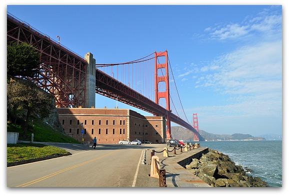 Fort Point Under the Golden Gate Bridge