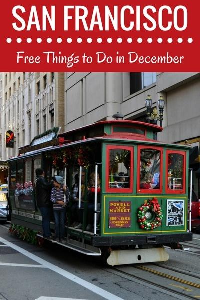 Free Activities in SF in December