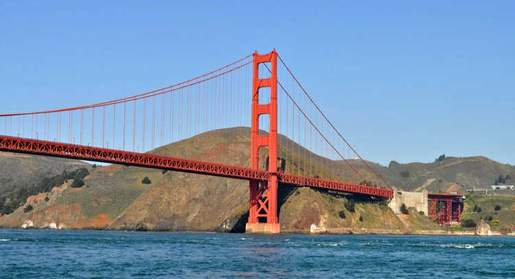 Golden Gate Bridge Bay Cruise with Kids