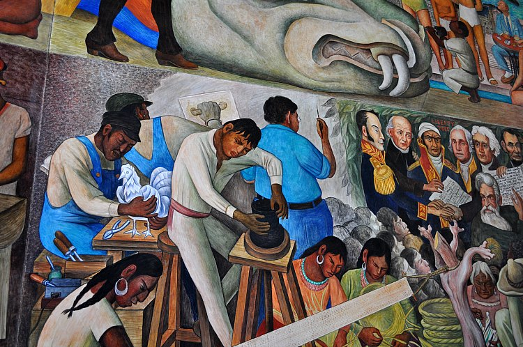 Free Things to Do in San Francisco in September: Diego Rivera