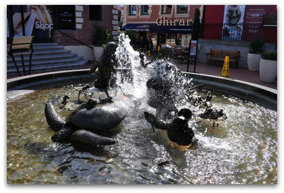 ghiradelli fountain