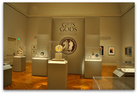 gifts from the gods display