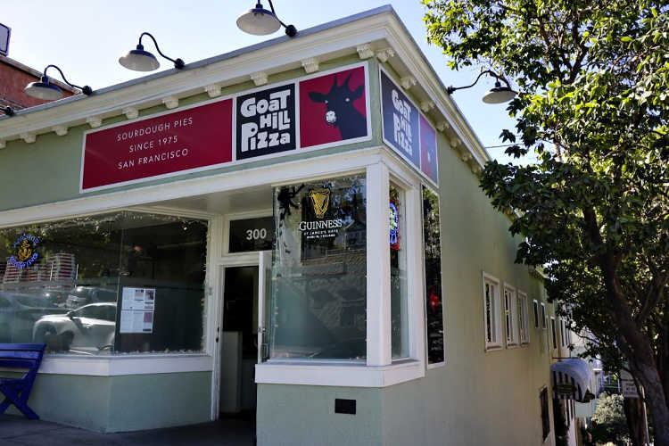 Goat Hill Pizza in Potrero Hill