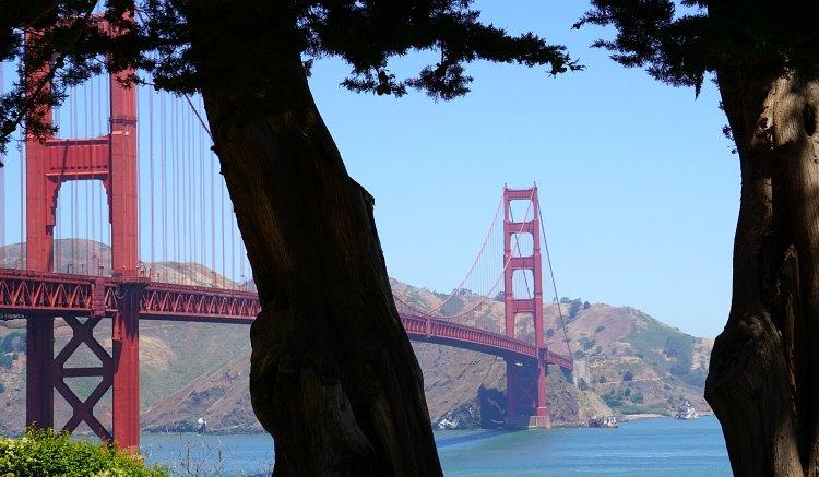 Golden Gate near Crissy Field