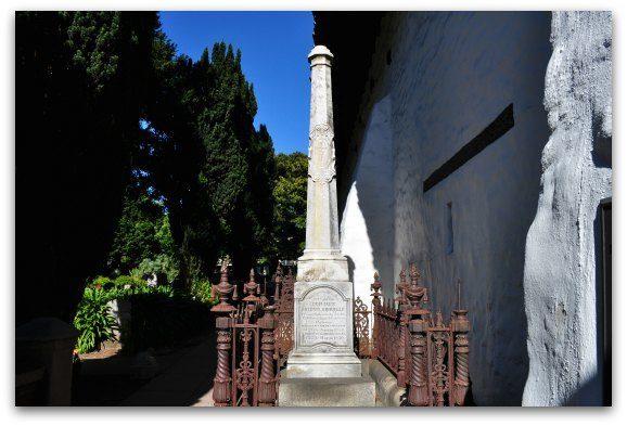 Grave Stone Mission de Asis