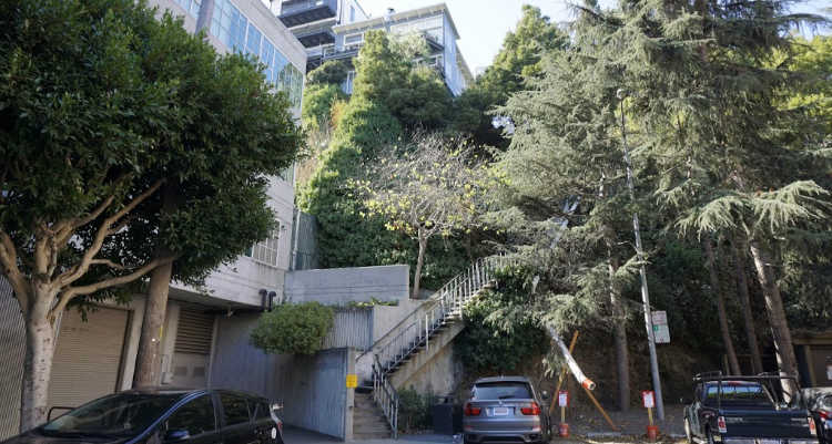 Greenwich Stairs in San Francisco