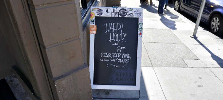 Divisadero Happy Hour