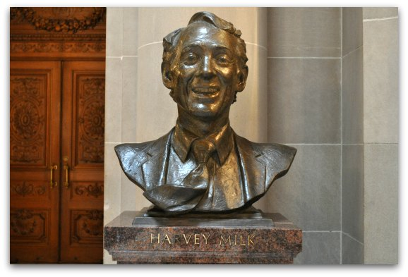 harvey milk statue