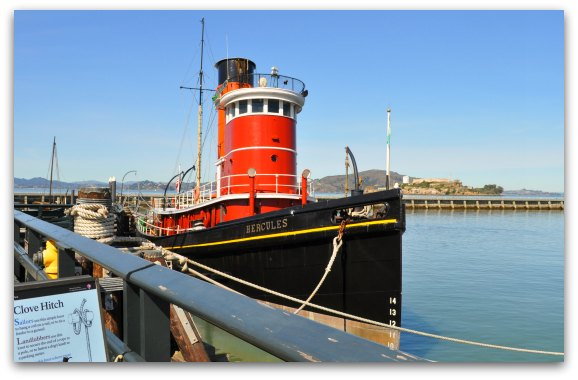Hercules Tug Boat in San Francisco