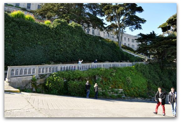 hill at alcatraz island