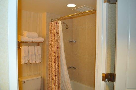 shower at hilton union square