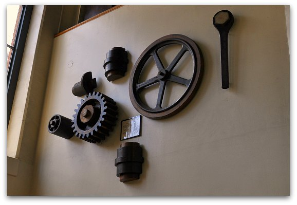 historic cable car parts
