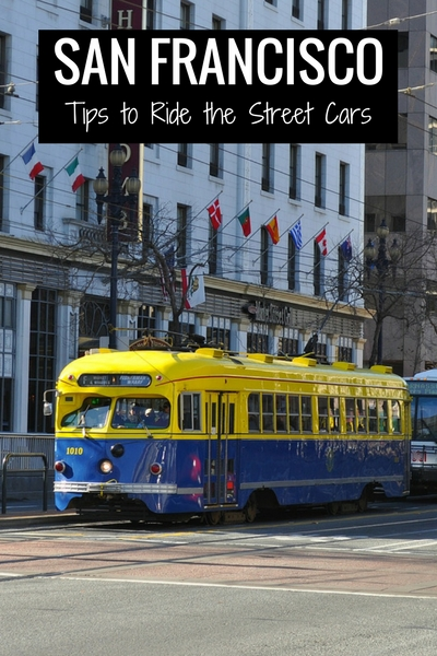 Historic Street Cars in SF