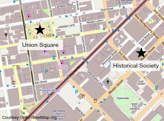 historical society map