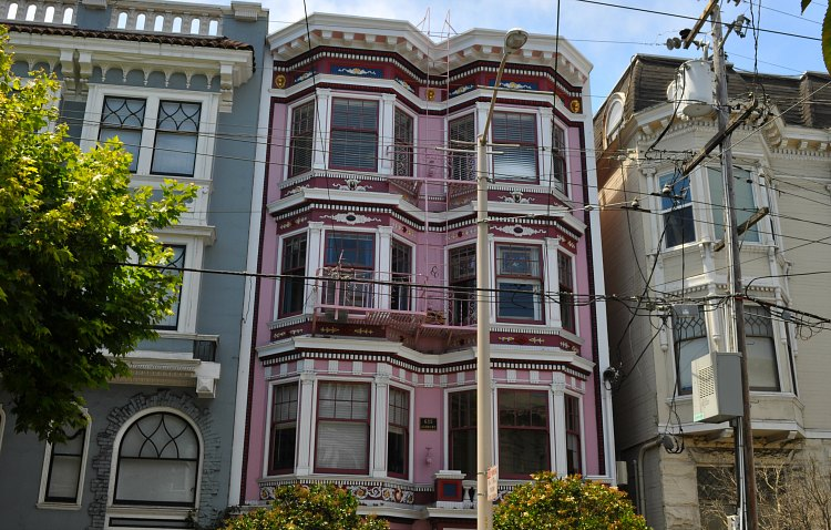 Janis Joplin's home in the SF Haight-Ashbury