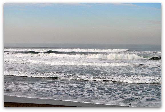 January at Ocean Beach