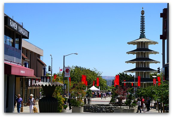 Shopping in Japantown