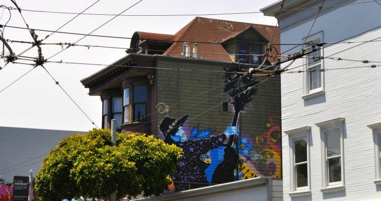 Jimi Hendix apartment in San Francisco