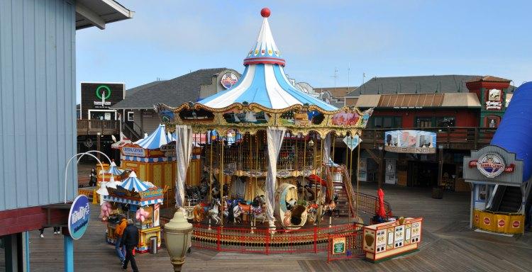 Kids Carousel at Pier 39