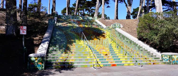 Lincoln Park Steps Full View