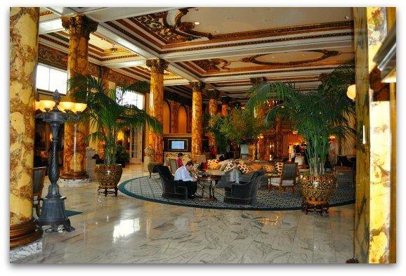 lobby fairmont sf