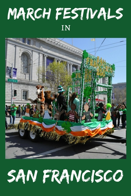 March Festivals in San Francisco