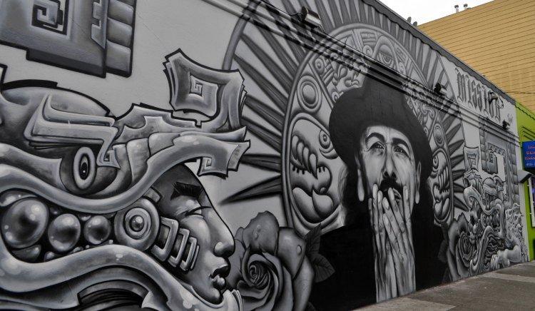 Mission Murals Santana
