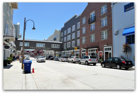 Monterey Cannery Row Shopping Restaurants Hotels