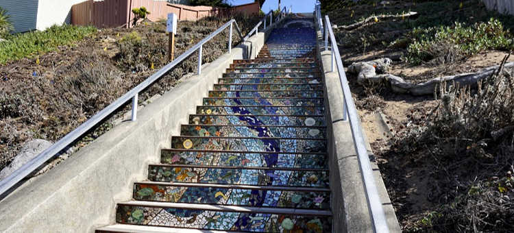 Mosaic Steps at 16th Avenue