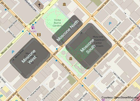 Moscone Map