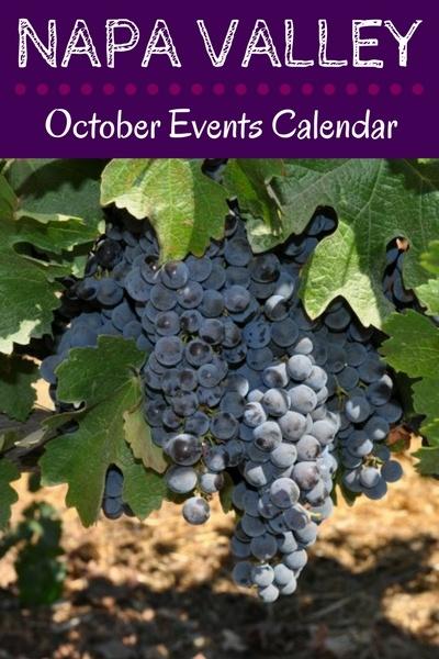 Napa Events in October: Calendar of Festivals, Wine Tasting Celebrations, Harvest Parties, & More