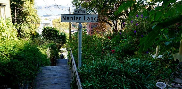Napier Lane in San Francisco