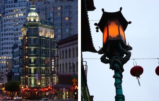 North Beach and Chinatown at Night