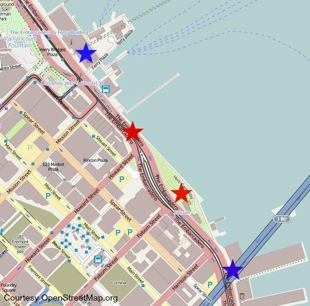 nye fireworks map