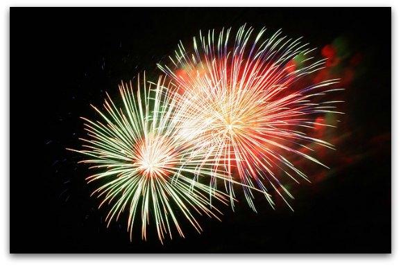 NYE Fireworks Over SF