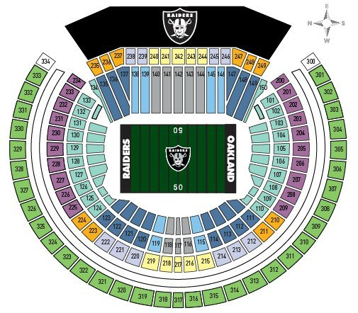 Warriors New Stadium Virtual Tour: Oakland Raiders Schedule 2018: Tips To Attend A Game