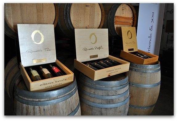 obrien wine gift boxes