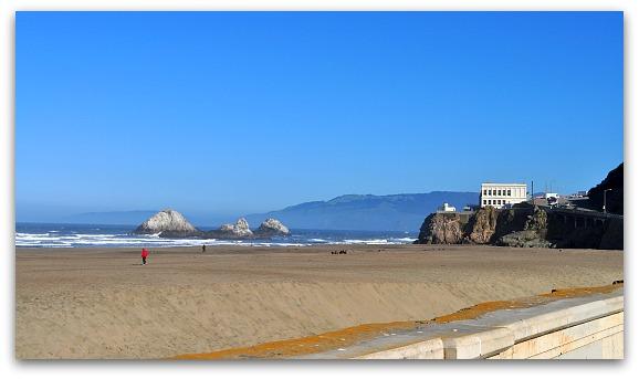 Ocean Beach in SF