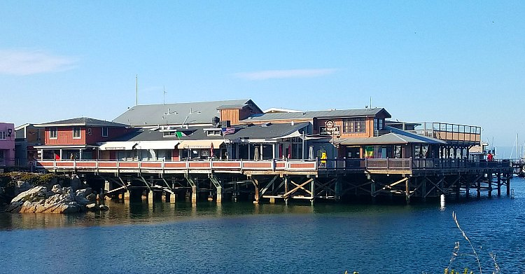 Old Fishermans Wharf from Shore