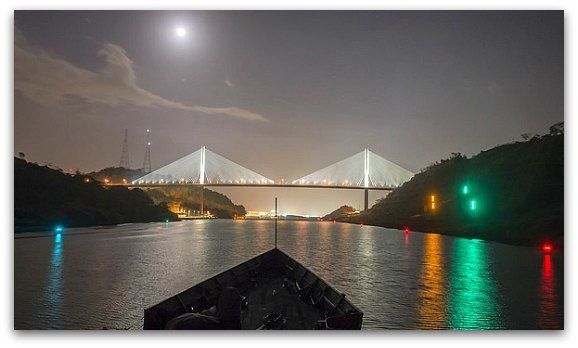 Panama Canal Bridge