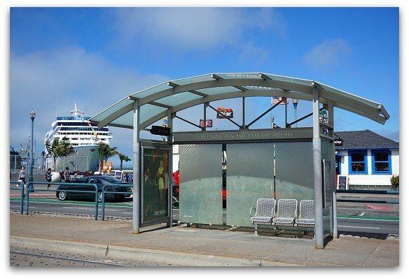 Pier 27 Street Car Stop