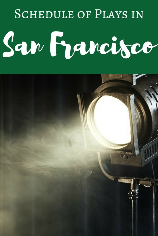 Schedule of Plays in San Francisco