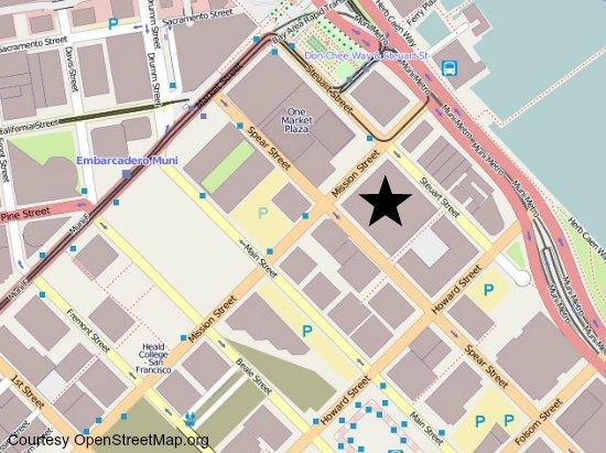 rincon center map
