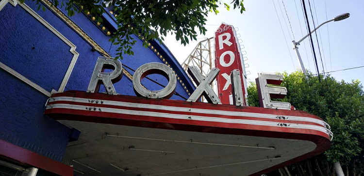 Roxie Theater Sign